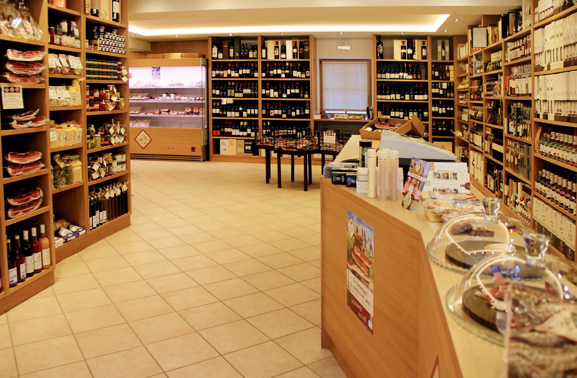 Verkaufsort Feinkostladen Kastelruth - Weine